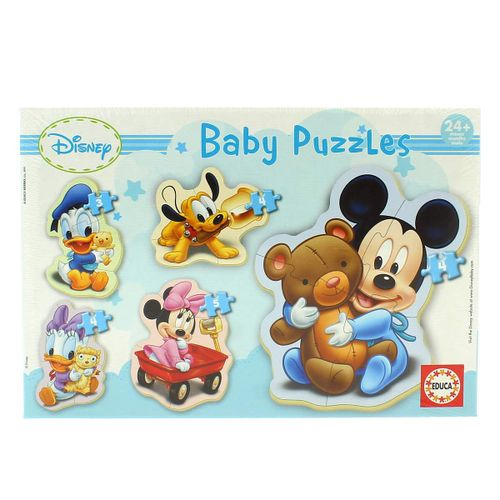 Puzzles progresivos de Baby Mickey