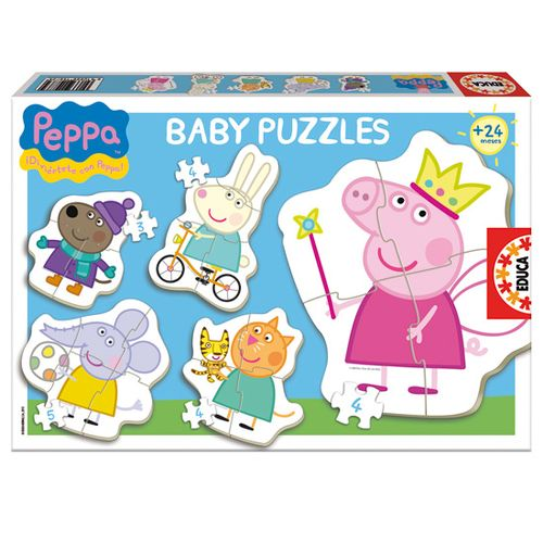 Peppa Pig Baby Puzzles