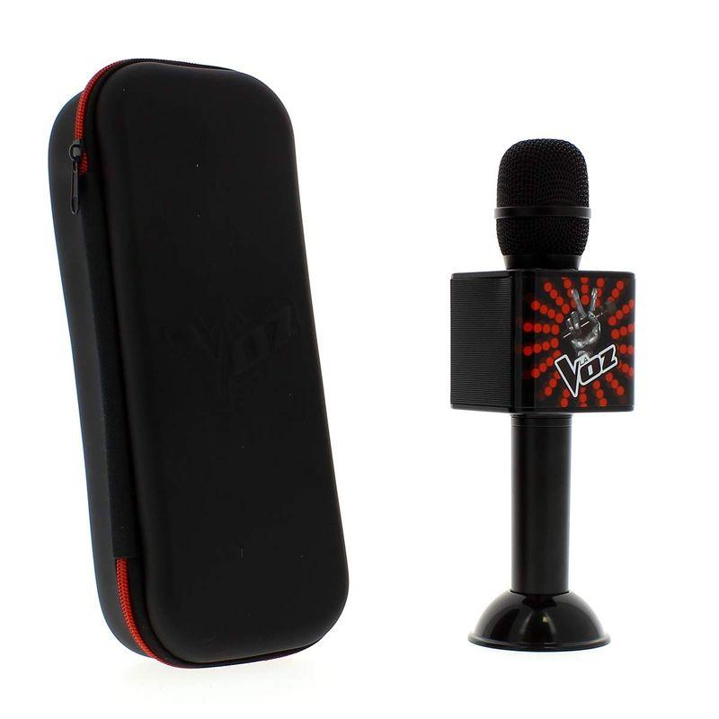 Microfono-La-Voz-Negro-Rojo