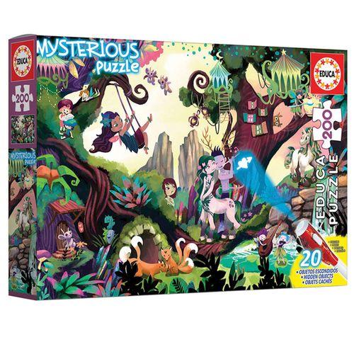 Puzzle Mysterious Bosque Mágico 200 Piezas