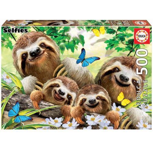Puzzle Familia Perezosos 500 Piezas