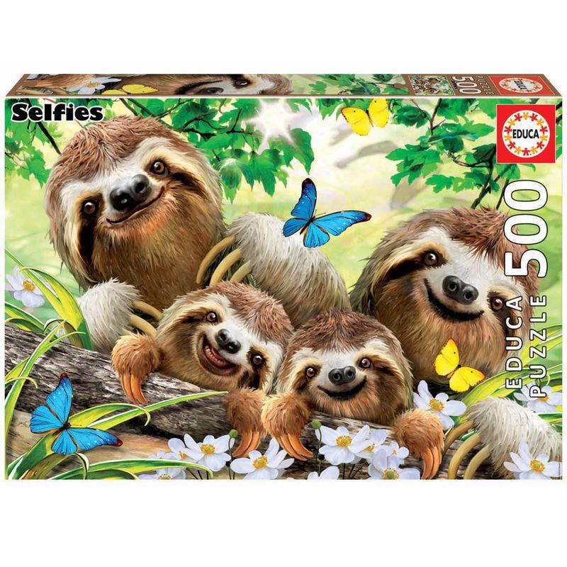 Puzzle-Familia-Perezosos-500-Piezas