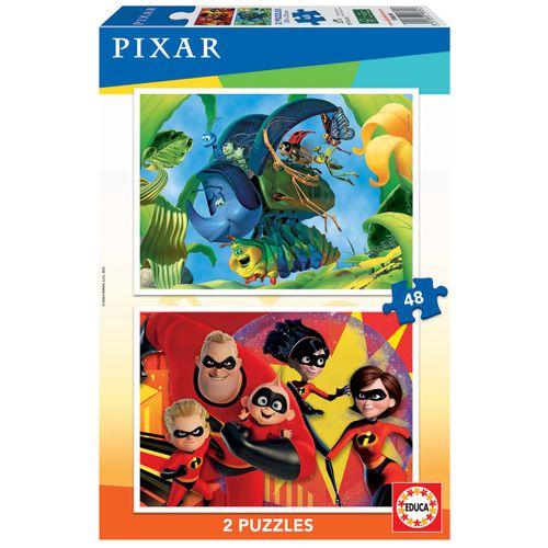 Disney Pixar Puzzle 2x48 Piezas