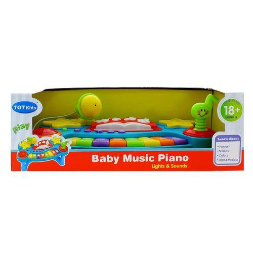 Piano Infantil Luz y Sonido