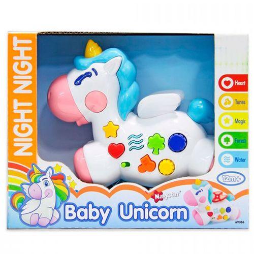 Unicornio con Luz y Sonido