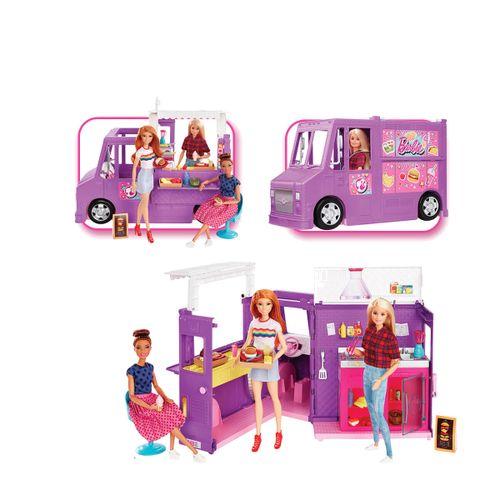 Barbie Camioneta Comida