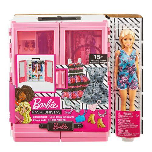 Barbie Superarmario con muñeca