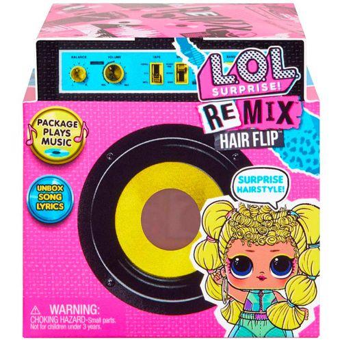 LOL Surprise Remix Muñeca Hair Flip Sorpresa