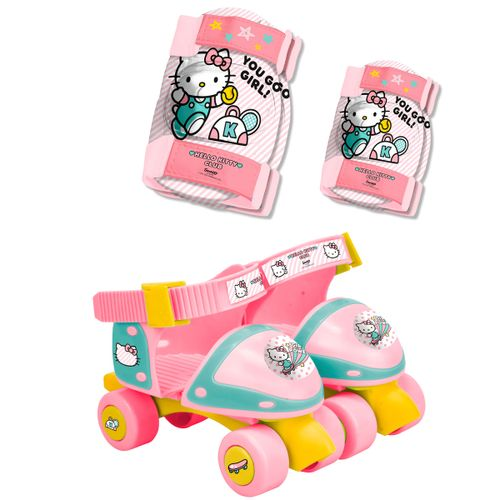 Hello Kitty Patines + Protecciones
