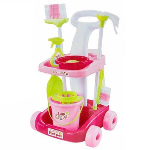 Set Carro de Limpieza Infantil