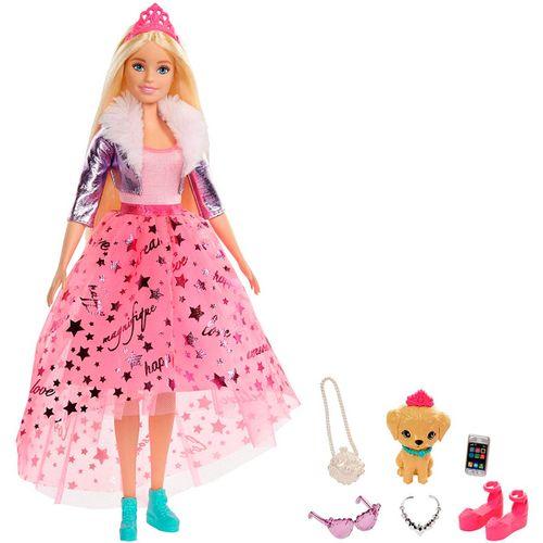 Barbie Princesa Deluxe Rosa