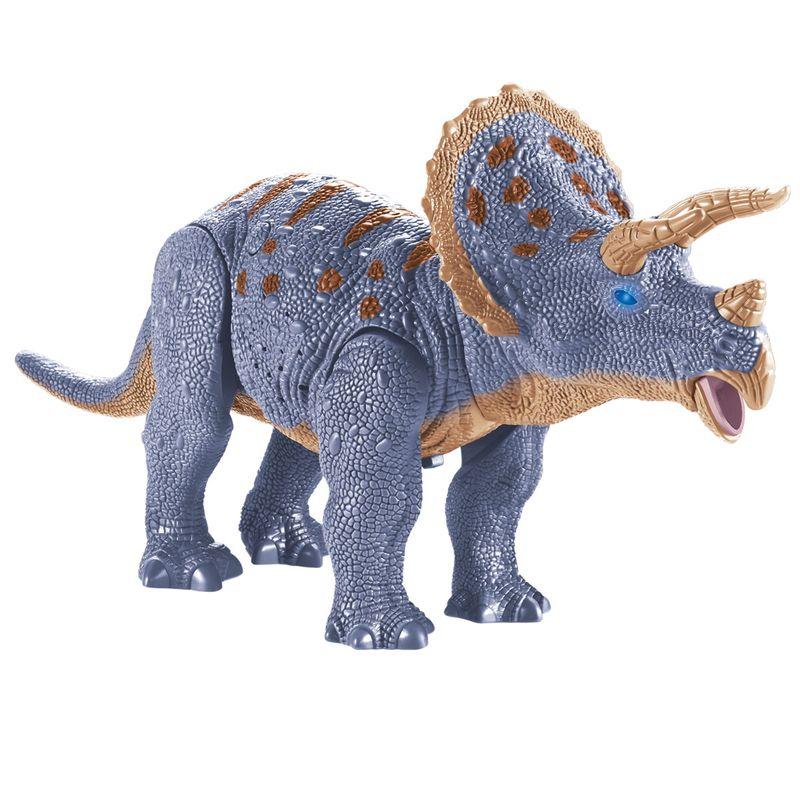 Dinosaurio-Triceratops-Electronico