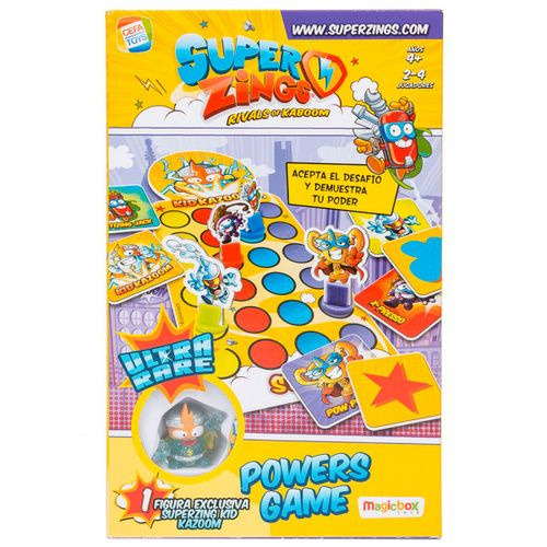 Superzings Juego de Mesa Kid Kazoom Powers