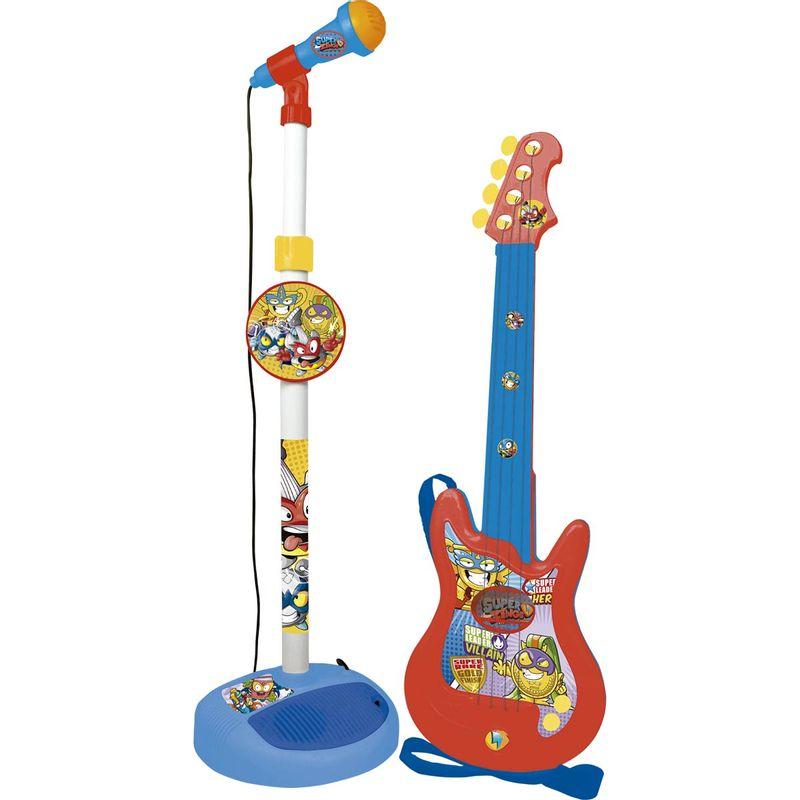 Superzings-Pack-Microfono---Guitarra-Infantil