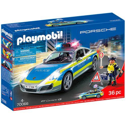 Playmobil Porsche 911 Carrera 4S Policia