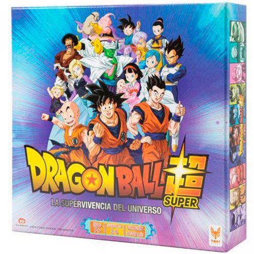 Dragon Ball Juego de Mesa Supervivencia Universal