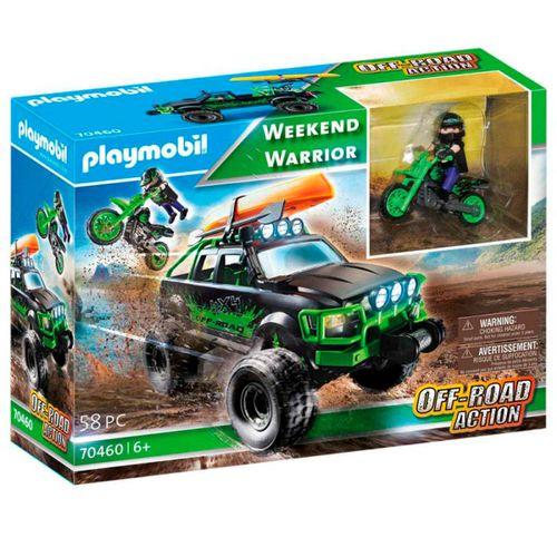 Playmobil Off-Road Action Todoterreno Aventuras