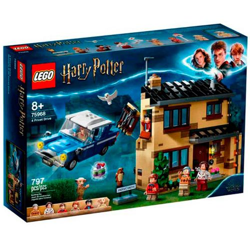 Lego Harry Potter Número 4 de Privet Drive