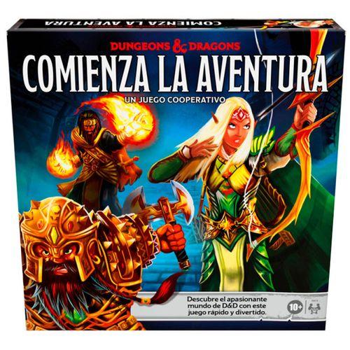Dungeons & Dragons Comienza la Aventura Juego Mesa