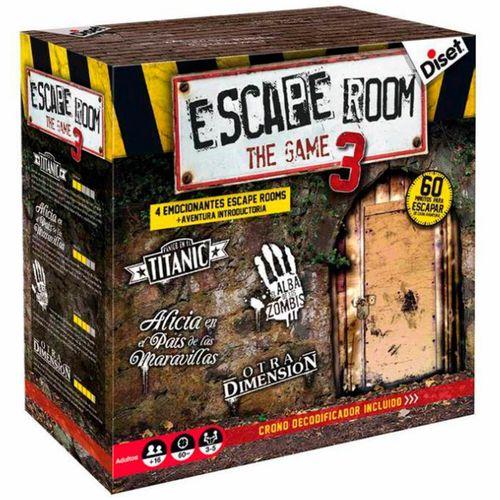 Escape Room 3 Juego de Mesa