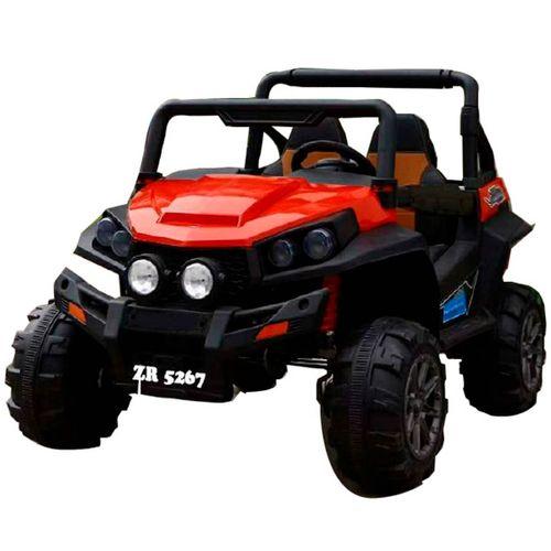 Vehículo 4x4 Batería Rojo
