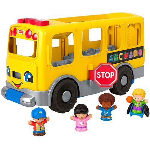 Little People Autobús Escolar Amarillo Grande