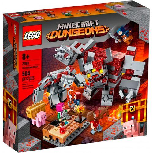 Lego Minecraft La Batalla por la Piedra Roja