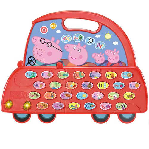 El Auto Alfabeto de Peppa Pig