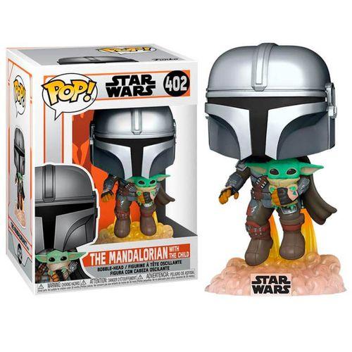 Funko POP Star Wars Mandalorian Jet + Baby Yoda