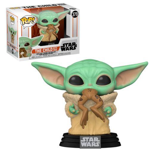 Funko POP Star Wars Mandalorian Baby Yoda + Rana