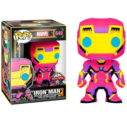 Funko POP Marvel Iron Man Edición Black Light