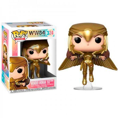 Funko POP! Wonder Woman WW84 Voladora Dorada