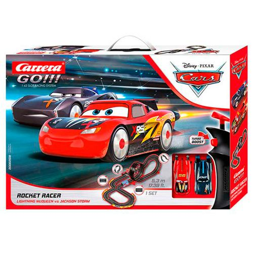 Carrera GO!! Cars Circuito Rocket Race