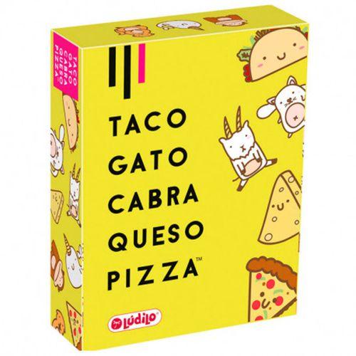 Taco Gato Cabra Queso Pizza Juego Cartas