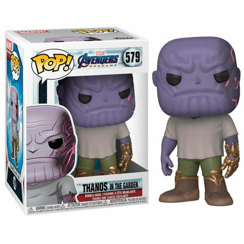 Funko POP Marvel Thanos en el Jardín