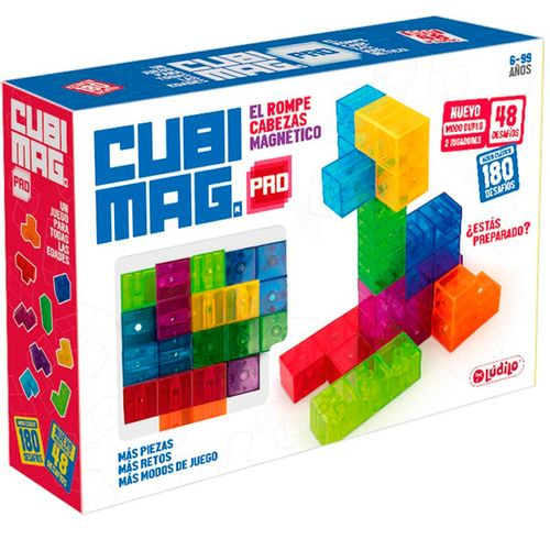 Cubimag Pro Juego Magnético