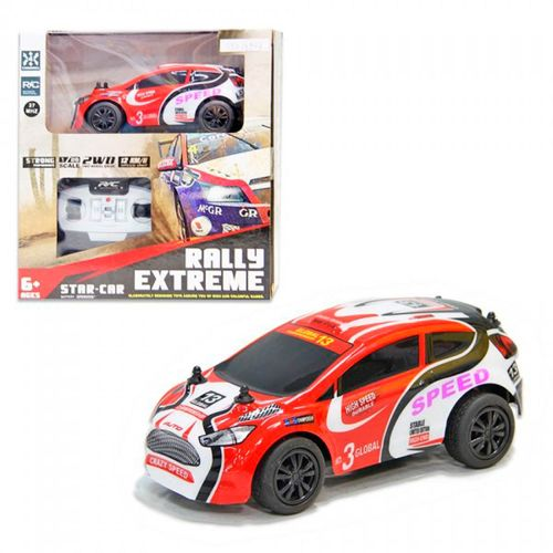 Coche Rally Extrem Speed R/C 1:28