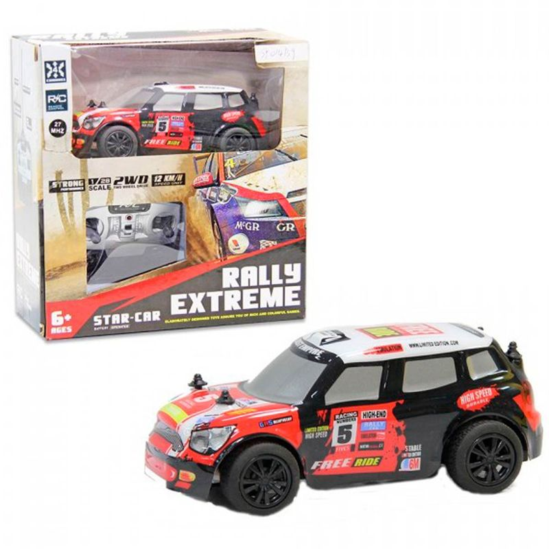 Coche-Rally-Extrem-Star-Car-R-C-1-28