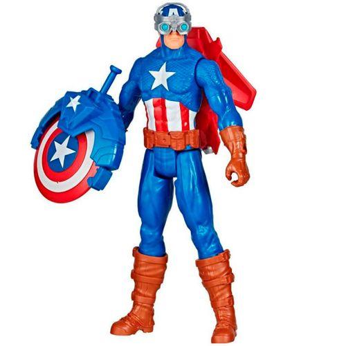 Vengadores Titan Capitán América con Accesorios