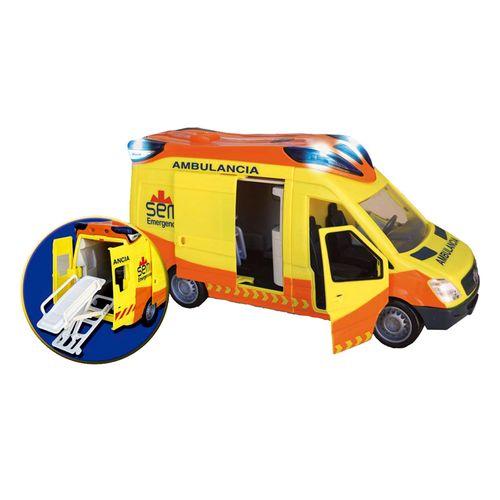 Ambulancia Sem Miniatura 1:12