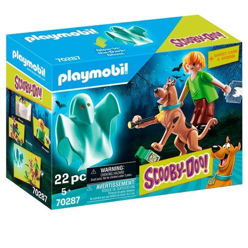 Playmobil SCOOBY DOO! Scooby & Shaggy con Fantasma