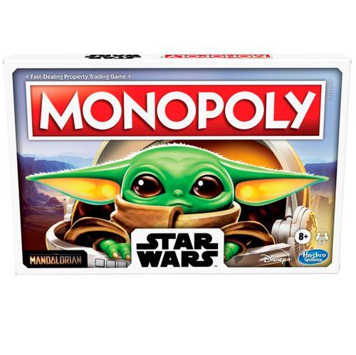Monopoly Star Wars Juego Mandalorian Baby Yoda