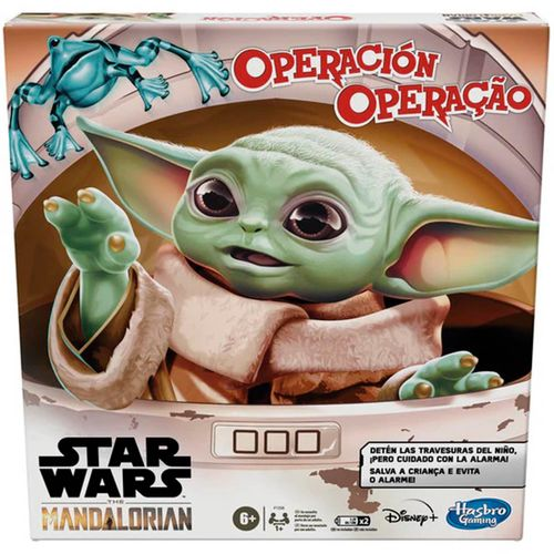 Star Wars Mandalorian Juego Operación Baby Yoda