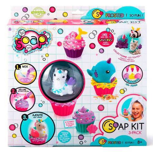 So Soap Kit Pack 3 Surtido