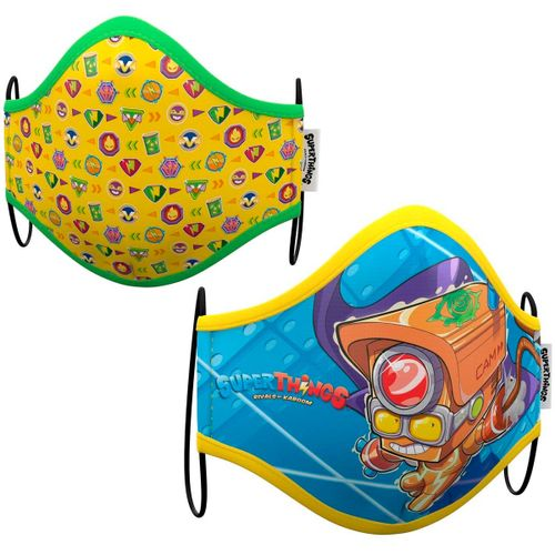 Superzings Máscara Higiénica 2 Unidades 10-12 Años