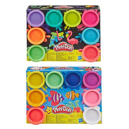 Play-Doh Pack 8 Botes Plastilina Surtido