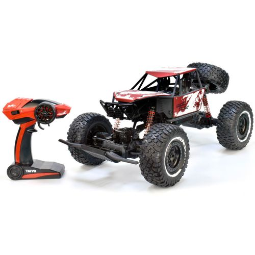 Coche Iron Claw Red Metal 1:8 R/C