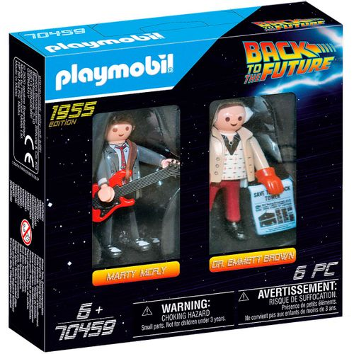 Playmobil Regreso Futuro Marty Mcfly y Dr. Brown