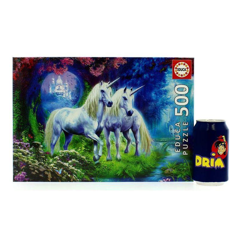 Puzzle-Unicornios-en-el-Bosque-de-500-Piezas_2