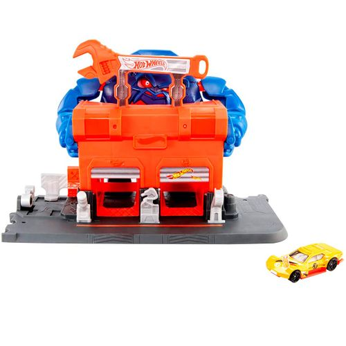 Hot Wheels City Taller Furia del Gorila